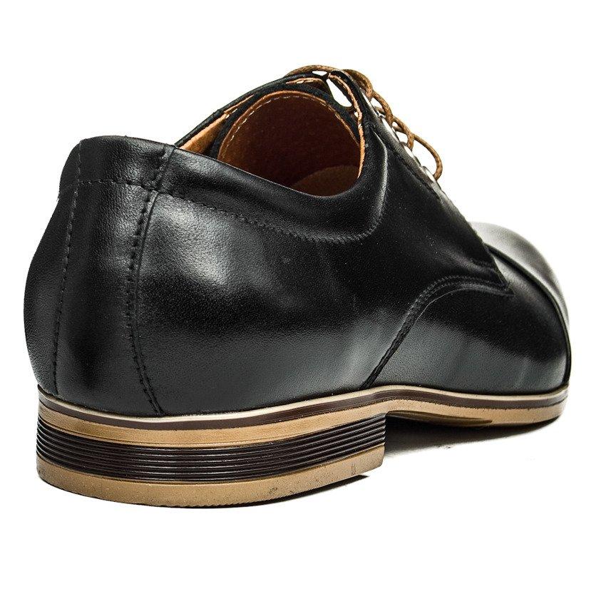 Buty męskie casual Moskoła 631 czarne