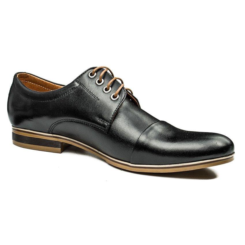 męskie pół buty z dużym językiem